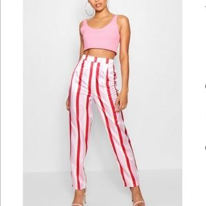Boohoo Satin Pants